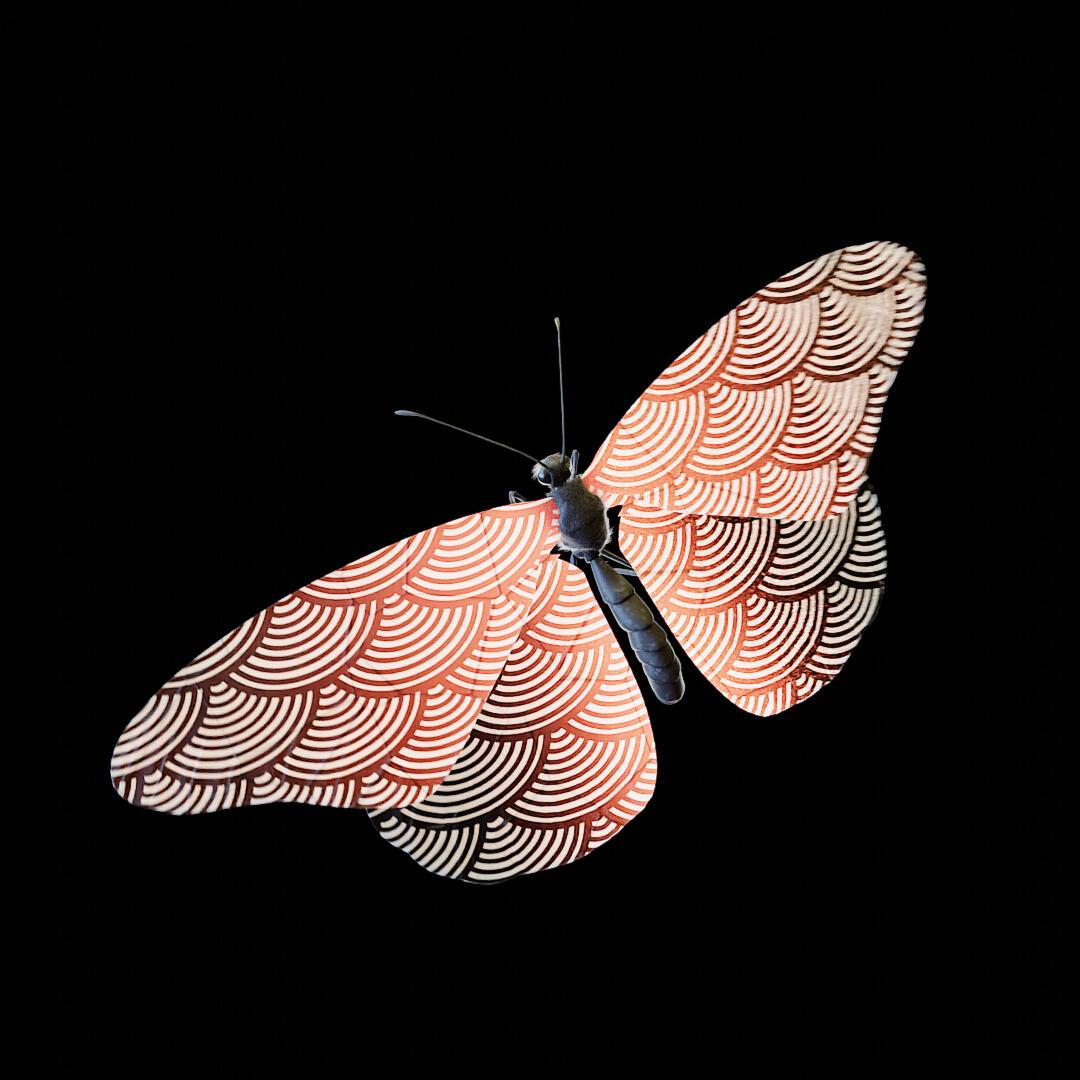 Hanafuda_Butterfly